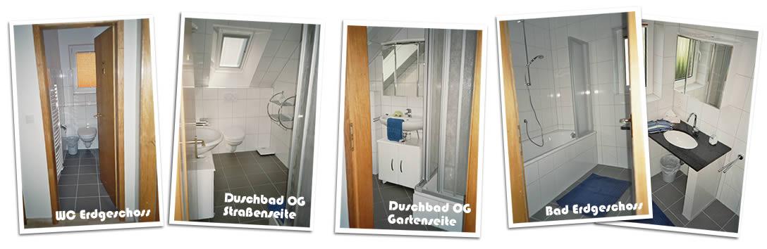 Ferienhaus Klante - Badezimmer